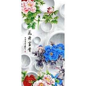 Tranh Treo Hoa Mẫu Đơn - MD024