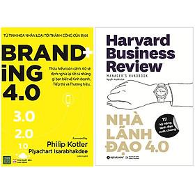 Combo 2 Cuốn Sách: Branding 4.0 + Nhà Lãnh Đạo 4.0