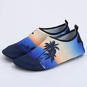 Giày đi dưới nước chống trơn trượt, gọn nhẹ, sử dụng nhiều lần, phù hợp đi du lich, leo núi, thân thiện với môi trường, chịu nước tốt và nhanh khô - SA056