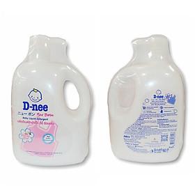 Nước giặt xả quần áo em bé D-nee 960ml Hồng Honny Star