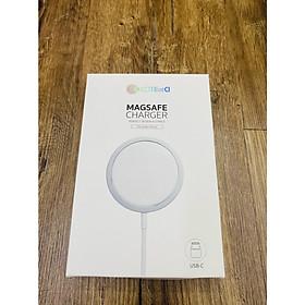 Sạc Không Dây COTEetCI MagSafe Charger 15W Dành Cho iPhone 12/12Pro/12Pro Max - Hàng Chính Hãng