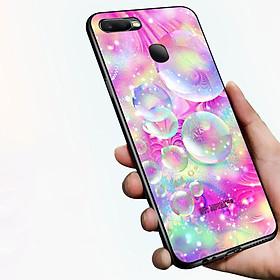 Ốp lưng điện thoại Oppo A7 2018 - Lung Linh Sắc Màu MS LLSM009 - Hàng Chính Hãng