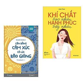 Combo 2 Cuốn Sách Kỹ Năng Sống Mọi Phụ Nữ Đều Nên Có: Cân Bằng Cảm Xúc, Cả Lúc Bão Giông + Khí Chất Bao Nhiêu, Hạnh Phúc Bấy Nhiêu (Tặng Kèm Bookmark Happy Life)