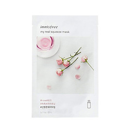 Mặt Nạ Innisfree My Real Squeeze Mask Sheets -18 Loại (18 Miếng)