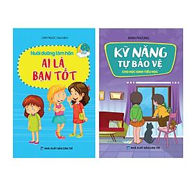 Combo Sách kỹ năng sống cho trẻ - Kỹ năng tự bảo vệ