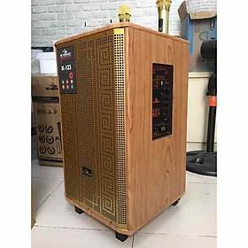 Loa kéo karaoke Kiomic K123 kèm 02 mic cao cấp - Hàng Chính Hãng