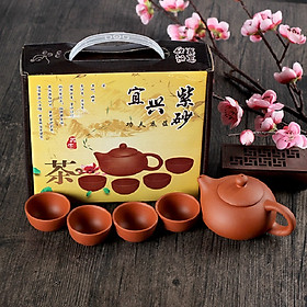 Bộ bình trà 4 tách Nhật Bản