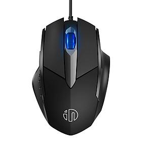Chuột chơi Game có dây Inphic PW1 4000 DPI - Hàng nhập khẩu