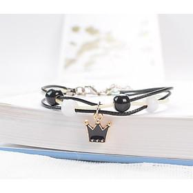 Lắc tay gốm thiên nga mèo vương miệng vòng tay gốm cỏ 4 lá vòng đeo tay nữ thiết kế sáng tạo đẹp thời trang Hàn Quốc