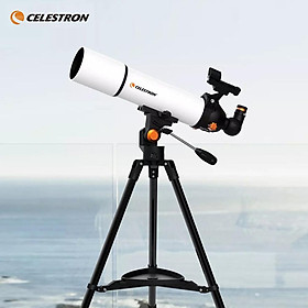 Youpin CELESTRON Telescope SCTW-80 Built In Theodolite FMC Antireflection Coating HD Zoom Refractive Astronomical