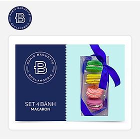 Paris Baguette - Set 4 Bánh Macaron