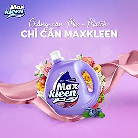 Túi Nước Giặt Xả MaxKleen Hương Huyền Diệu Sạch Khuẩn Thơm Mềm Tiện Lợi & Tiết Kiệm 2.4KG