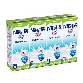 Lốc 4 hộp sữa Nestle ít đường 180ml - 33051