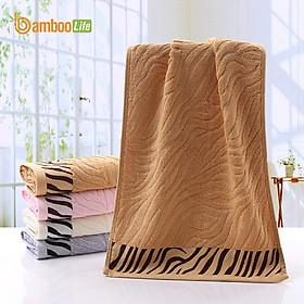 Khăn tắm sợi tre Bamboo Life hàng chính hãng Khăn lau người lau đầu mềm mại kháng khuẩn siêu thấm hút an toàn cho da ngay cả với trẻ sơ sinh BL045