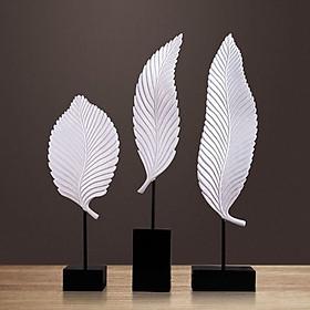 Bộ 3 lá trắng phong cách  tối giản - LTTG01