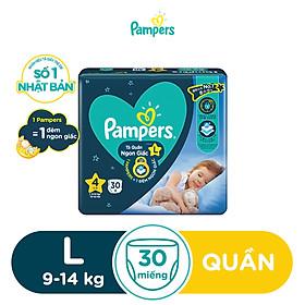Tã Quần Pampers Ngon Giấc L30/XL26/XXL22