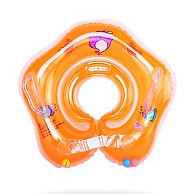 Phao đỡ cổ cho bé dưới 2 tuổi chất nhựa PVC 2 lớp mềm mại dày dặn thiết kế chống lật an toàn cho bé yêu tung tăng bơi lội – PB002