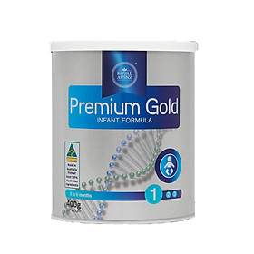 SỮA HOÀNG GIA ÚC PREMIUM GOLD 1-400G - DÀNH CHO TRẺ TỪ 0 - 6 THÁNG TUỔI-0