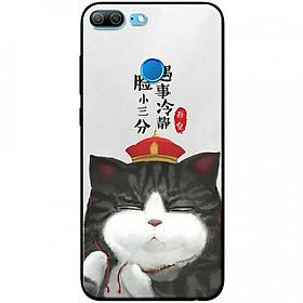 Ốp lưng  dành cho Honor 9 Lite mẫu Mèo đa nghi