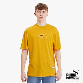 PUMA - Áo thun thể thao nam cổ tròn tay ngắn Hemp 596620-25