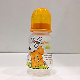 Bình sữa cho bé Baby Kute 125ML dạng eo nhập khẩu từ Thái Lan