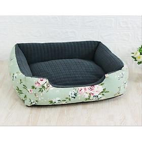 Nệm ngủ cho chó mèo, nệm ngủ thiết kế mềm mại, siêu dễ thương cho thú cưng