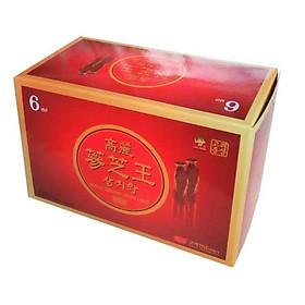 Nước hồng sâm linh chi KGS Hàn Quốc hộp 60 gói