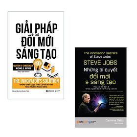 Combo Tự Tin Sáng Tạo: Giải Pháp Cho Đổi Mới Và Sáng Tạo + Steve Jobs-Những Bí Quyết Đổi Mới Và Sáng Tạo
