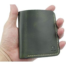 Bóp ví nam da bò đựng thẻ ATM, namecard,CMND dòng sản phẩm cầm tay sang trọng pha chút cổ điển BA00106