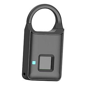 Fingerprint Padlock Lock Smart Touch Lock For Locker Backpack