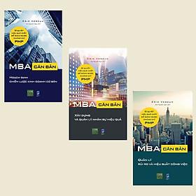 Combo Bộ 3 Cuốn: MBA Căn Bản