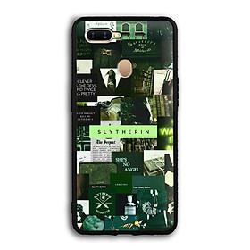 Ốp lưng Harry Potter cho điện thoại Oppo A7  - Viền TPU dẻo - 02070 7787 HP03 - Hàng Chính Hãng