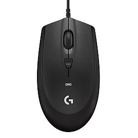 Chuột Chơi Game Có Dây Logitech G90 2500DPI 4 Phím - Hàng Chính Hãng