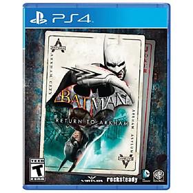Đĩa game PS4: Batman Return To Arkham - Hàng Nhập Khẩu