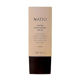 Natio Tinted Moisturiser SPF 20 Honey Online Only