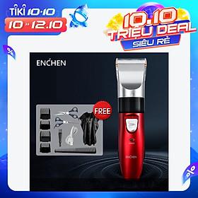 Tông Đơ Cắt Tóc Đầu Sứ Với Cổng USB Có Thể Sạc Lại Xiaomi Sharp Hair Trimmer Electric ENCHEN Sharp (EC - 712)