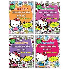 Bộ 4 Cuốn Hello Kitty- Sách Tô Màu: Rèn Luyện Khả Năng Cho