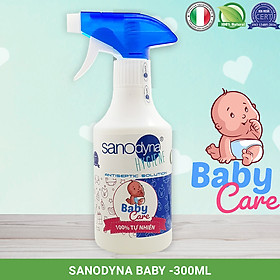 Dung dịch xịt mũi họng từ nước muối điện hóa (Anolyte) thương hiệu Sanodyna công nghệ ITALIA