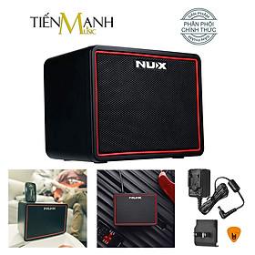 [Bluetooth] Ampli Guitar Điện Nux Mighty Lite BT NGA-3 Amply Di động Mini Portable Modeling Amplifier NGA3 Hàng Chính Hãng - Kèm Móng Gẩy DreamMaker