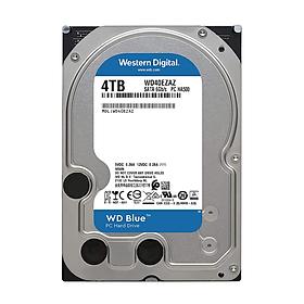 Ổ cứng HDD WD Blue 4TB SATA 3 ( WD40EZAZ ) - Hàng chính hãng