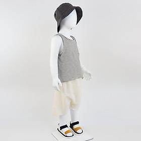 Set bộ quần áo bé trai ba lỗ (Set 77) - Nhập khẩu Hàn Quốc-1