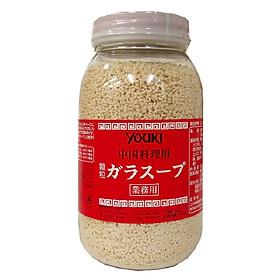 Hạt Nêm ngon ngọt tự nhiên, an toàn cho bé và gia đình Youki Nhật Bản 500g