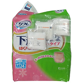 Tã - bỉm quần người lớn Livedo size M tặng 3 băng vệ sinh nữ Abri San