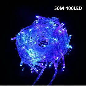 50M 400LEDs Stylish Night Light Waterproof Starry Design String Light Chinese Flat Plug 220V