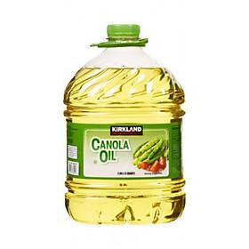 Dầu thực vật & dầu hạt cải Kirkland Signature Vegetable Oil & Canola Oil 2.84 lít Nhập Khẩu Mỹ