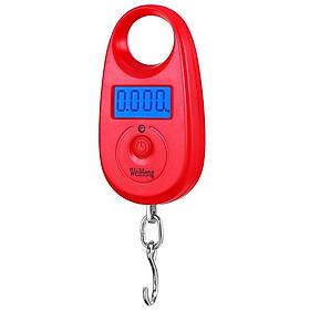 Cân móc điện tử 25kg màu ngẫu nhiên ( Tặng 02 nút kẹp giữ dây điện )