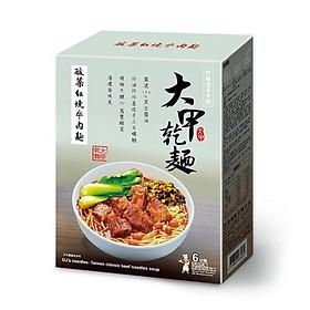 Mì khô Đại Giáp - Mì bò kho dưa cải chua 591g/ hộp