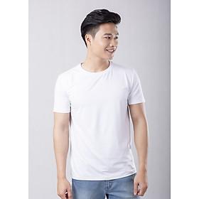 Áo thun trắng cổ tròn Coolmate