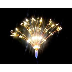 Dây đèn led trang trí hiệu ứng pháo hoa màu vàng ấm 160 bóng led