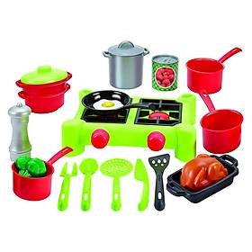 Đồ chơi Mô hình ECOIFFIER Bộ bếp nấu ăn 002649